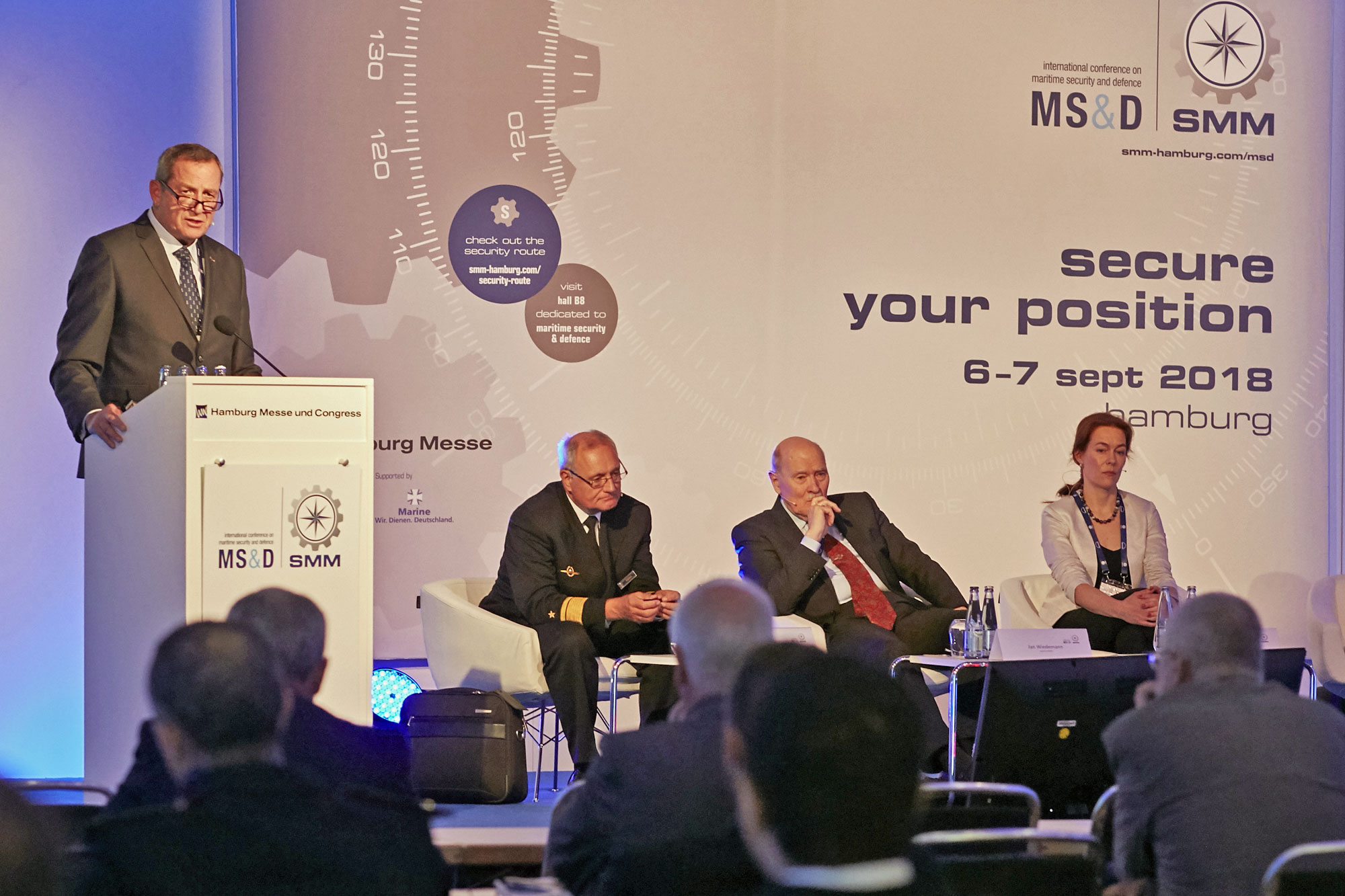 MS&D, the international conference for maritime security and defence